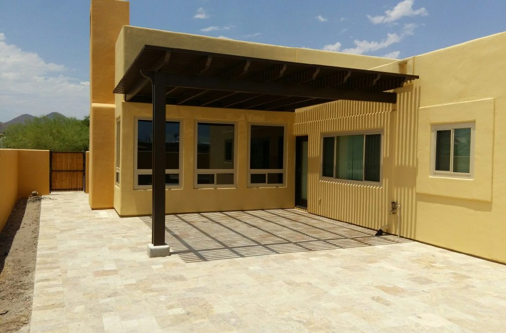 Project Pictures: 16′ x 16′ Alumawood patio covers in Fountain Hills, AZ