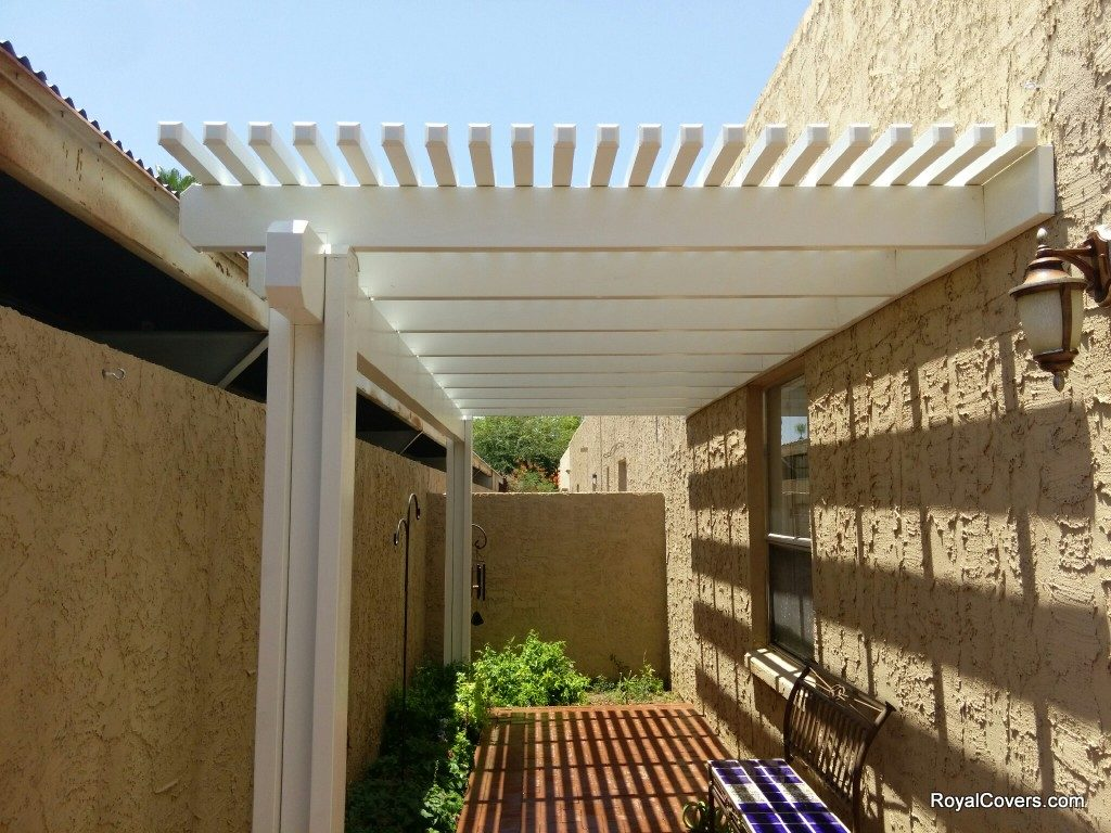 Lattice Patio Covers Installed By Royal Covers Of Arizona In Phoenix, AZ  85013.