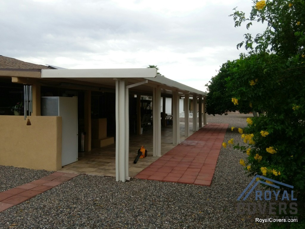Project Pictures Aluminum Awnings Installed By Royal Covers