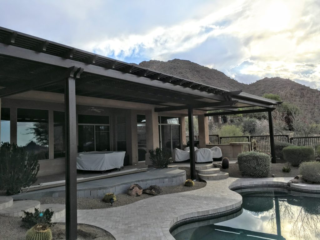 Great ... Alumawood Patio Cover In Scottsdale, AZ   Royal Covers Of Arizona
