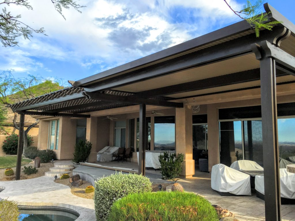 Alumawood Patio Cover in Scottsdale, AZ - Royal Covers of Arizona