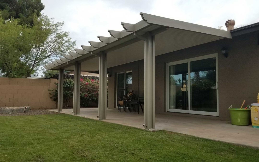 Replace Old Patio Cover With Alumawood